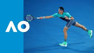 Stan Wawrinka v Milos Raonic match highlights (2R) | Australian Open 2019