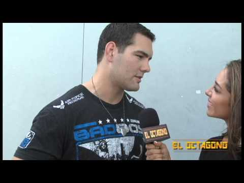 UFC 168 World Tour - Interview with UFC MW Champ, Chris Weidman