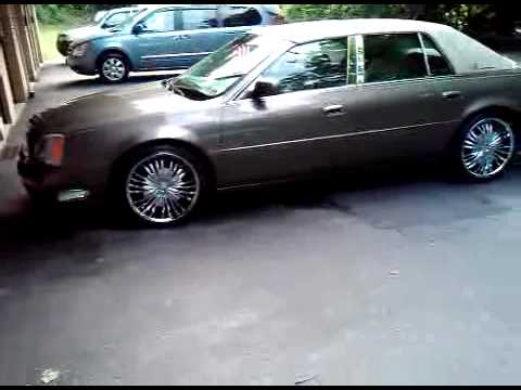 My 2001 Cadillac Deville on 20's - YouTube
