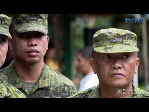 Camp Visit to the Philippine Army's 603rd Infantry Brigade, 6ID (Speech)