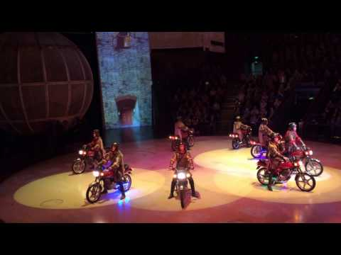 ERA show - 8 motors in a globe - Shanghai - China