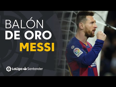 Messi wins the Ballon d'Or 2019