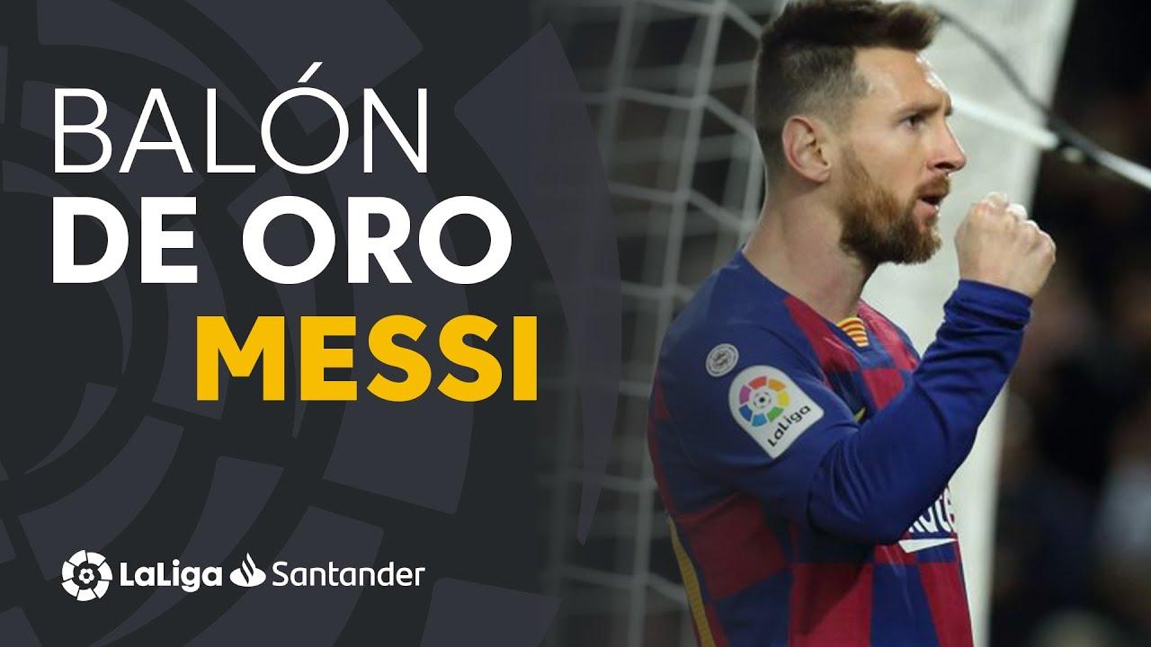 Lionel Messi es el ganador del Baln de Oro 2019