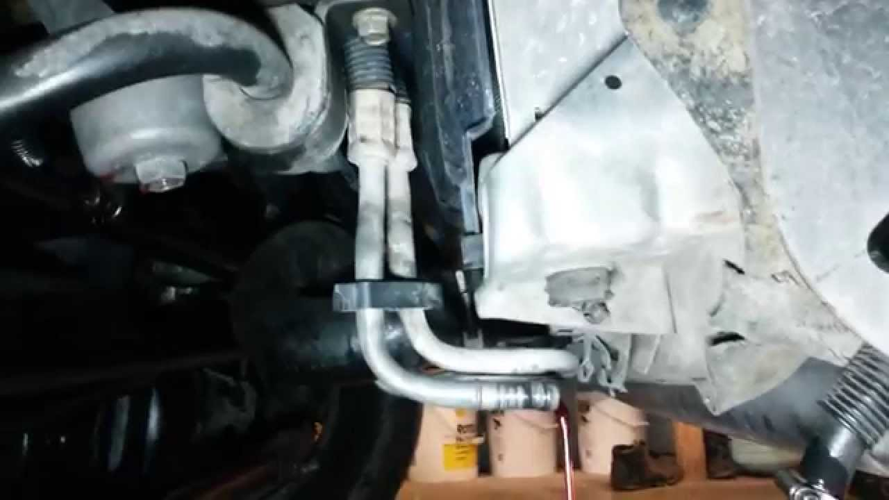 hight resolution of ford superduty transmission thermostat does not block all flow to cooler 5r110w 6 0l 6 4l youtube