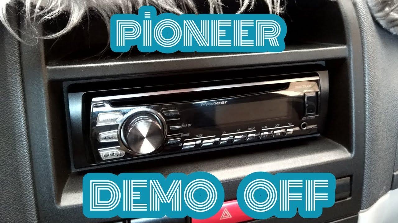 Pioneer Teyplerde Demo Modunu Kapatma