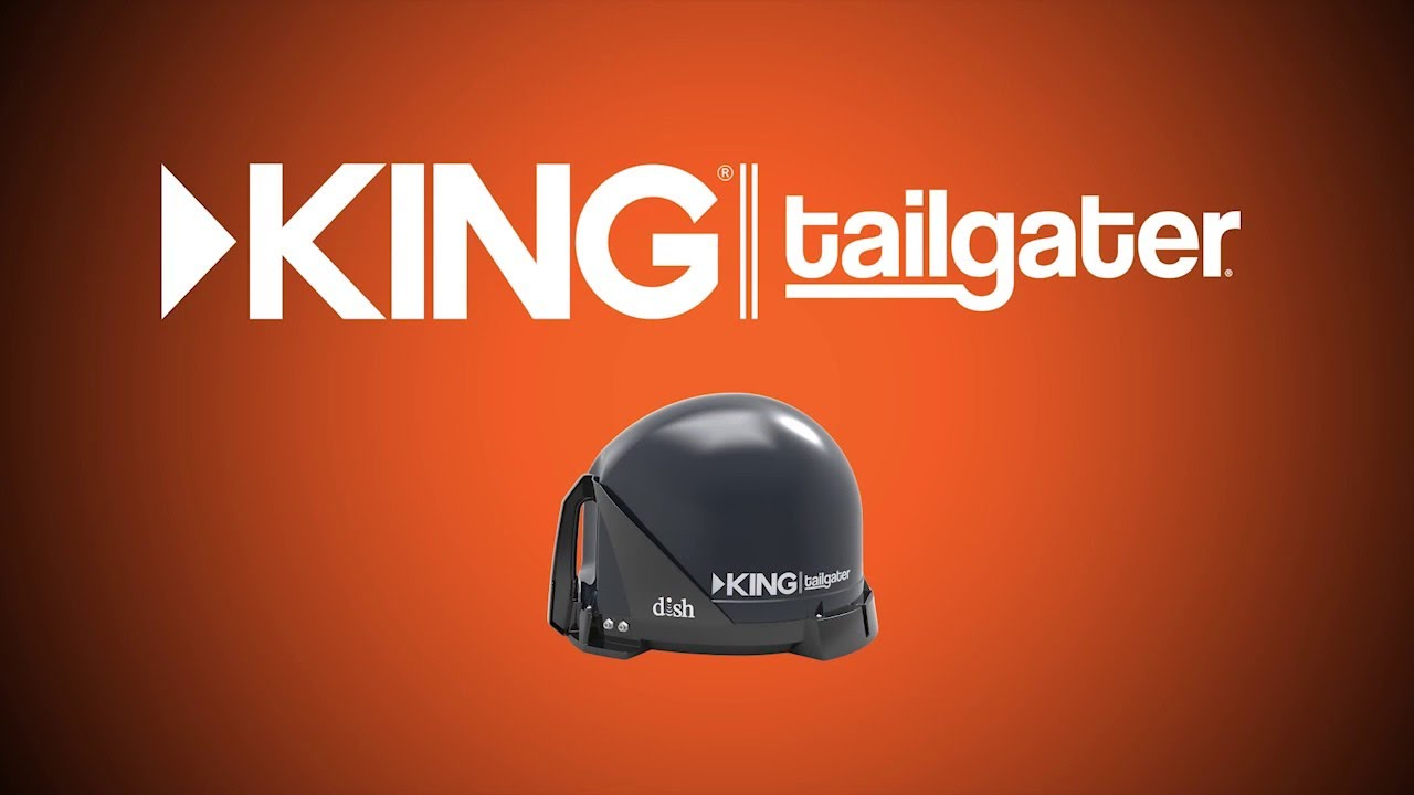 how to install your king tailgater satellite tv antenna [ 1280 x 720 Pixel ]