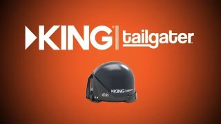 how to install your king tailgater satellite tv antenna