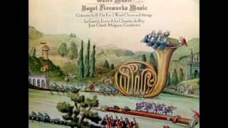 Händel: Orchestral Works (Part 1/3 - Water Music (complete) - J.C. Malgoire)