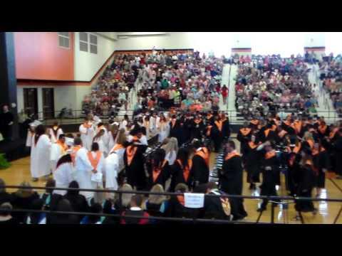 Metter High School 2017 Graduation   Cap Toss