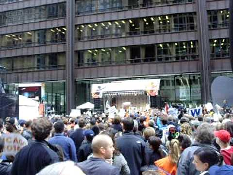 Chicago Eliminated in First Round of 2016 Olympic Vote: Reaction in Daley Plaza