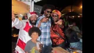 Inner Visions Reggae Band, Warrior King scenes from Kalamazoo Island festival 2013