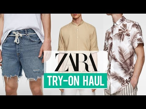 Zara Try-On Haul Spring Summer 2019 | Men's Fashion