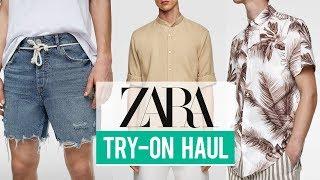 Zara Try-On Haul Spring Summer 2019   Men's Fashion