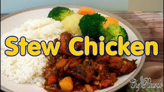 HOW TO COOK THE BEST Stew Chicken FROM CHEF RICARDO cooking shows