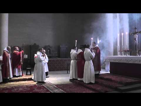 His Eminence Raymond Cardinal Burke Visits Clear Creek Monastery in Oklahom