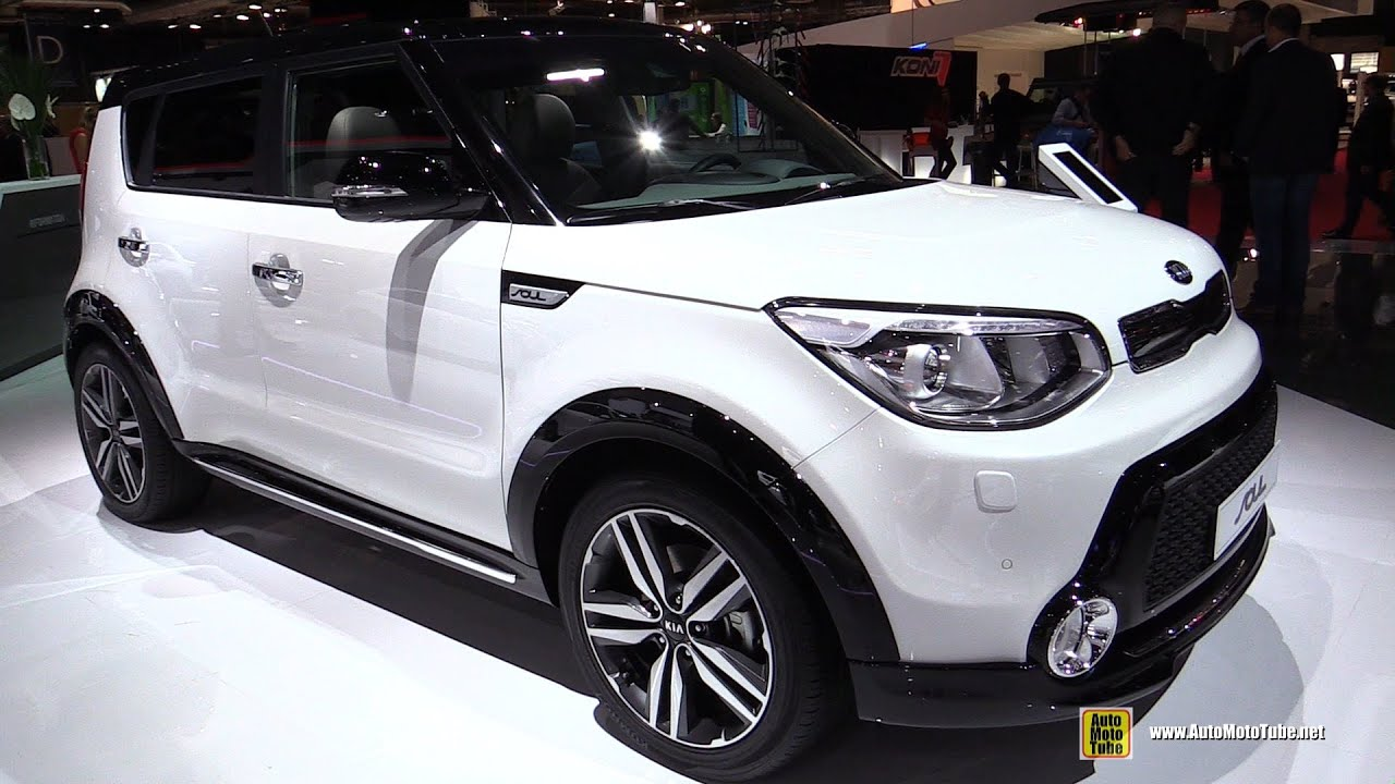 2015 KIA Soul   Exterior And Interior Walkaround   2014 Paris Auto Show    YouTube Amazing Pictures