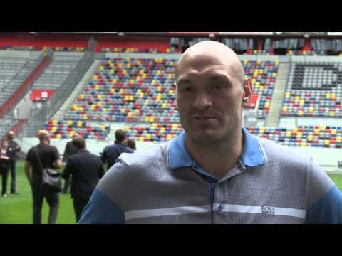 Tyson Fury spells out why he'll beat Wladimir Klitschko