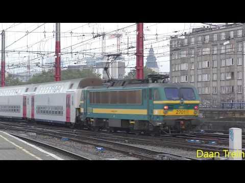 M5 met HLE 27 01 vertrekken uit Brussel Zuid