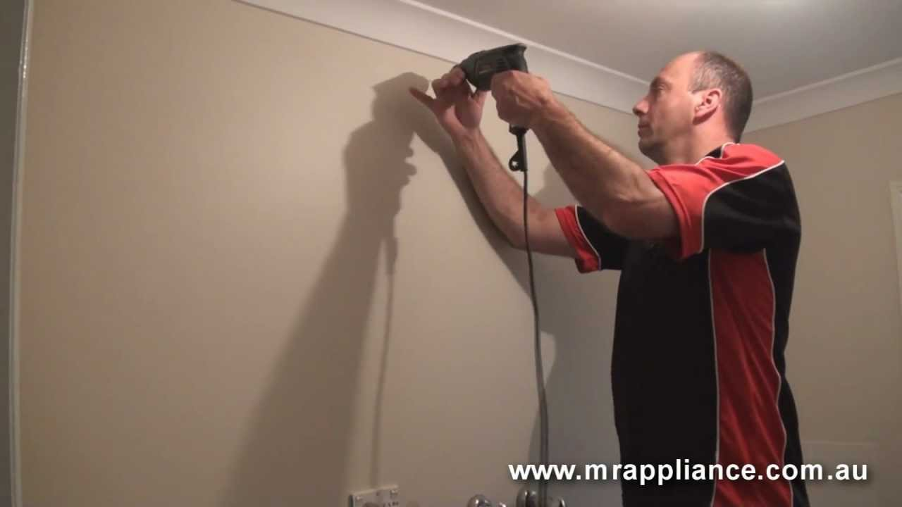 How To Hang And Install A Clothes Dryer Tumble In Your Hoover Wiring Diagram Home Youtube