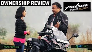 Pulsar RS 200 Ownership Review | Buyer's Guide | QuikrCars thumbnail