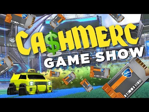 THE CASHMERC GAMESHOW (cash cab + Rocket League) Ep 1