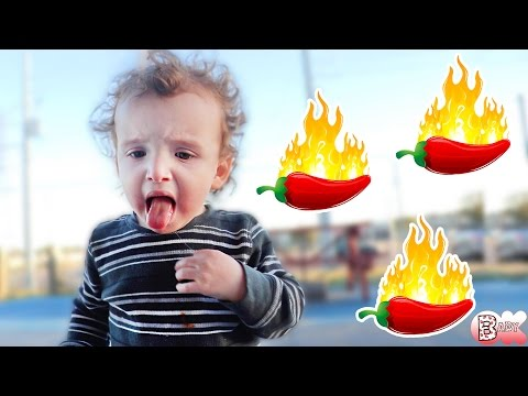 TODDLER'S FIRST: TRYING SPICY FOOD!!!