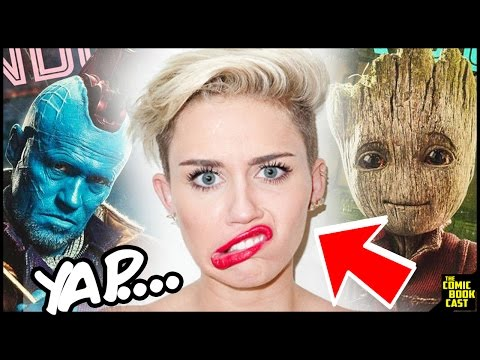 Miley Cyrus Confirmed for Guardians of the Galaxy 2