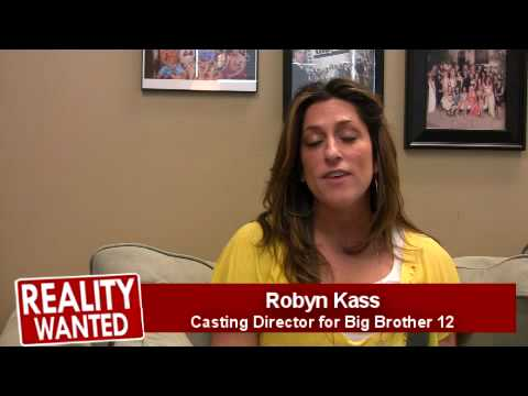 Big Brother 12 Casting Interview With Casting Director Robyn Kass