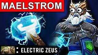 ELECTRIC ZEUS DOTA 2 PATCH 7.07 NEW META PRO GAMEPLAY