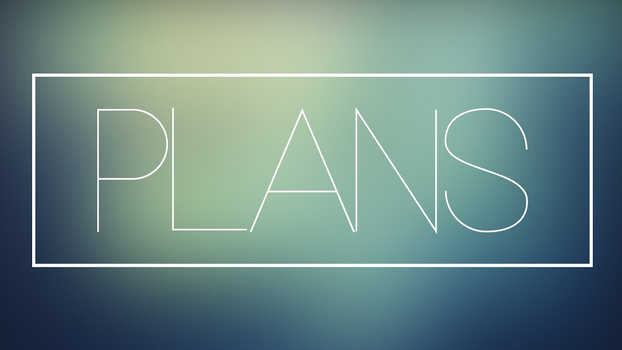my plans youtube