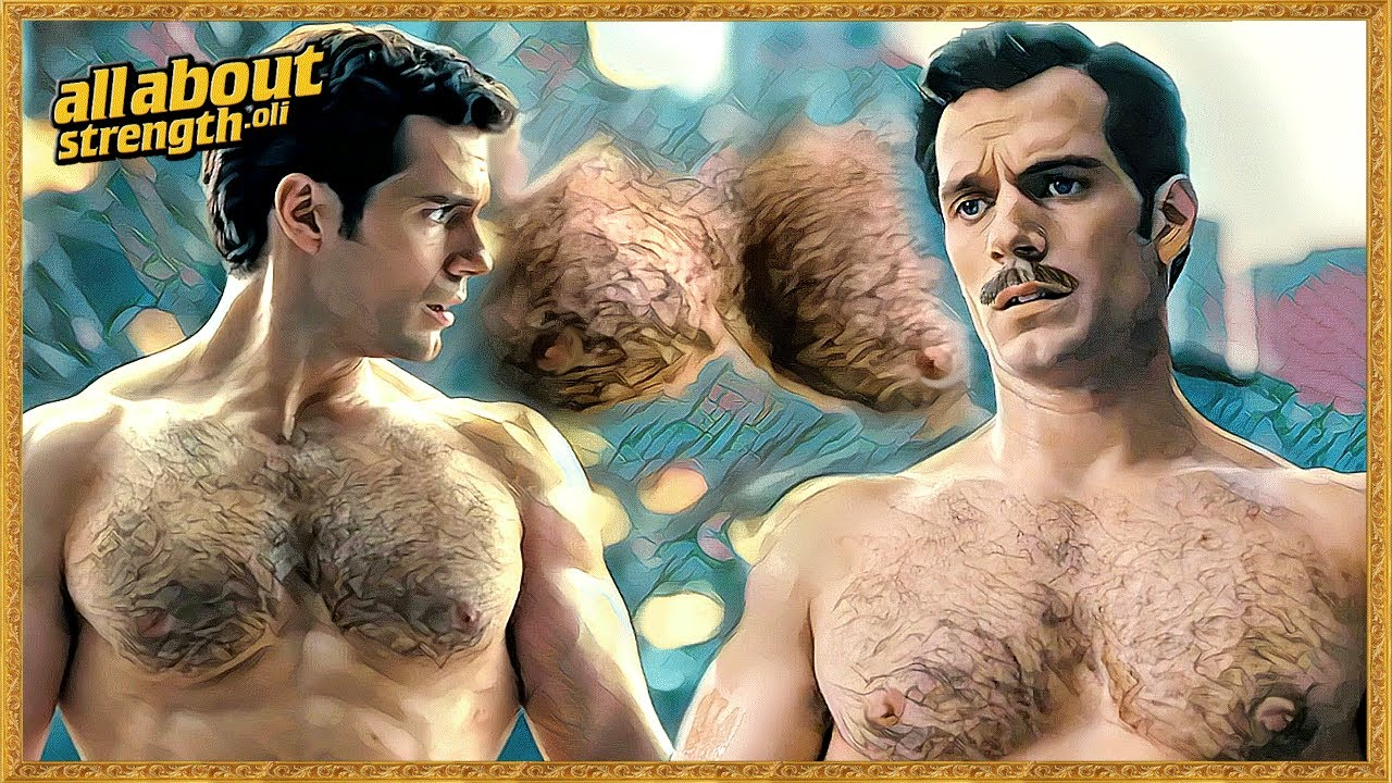 shirtless Henry chest cavill