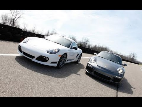 The Mid- vs. Rear-Engine Debate: Porsche Cayman R vs. 911 GT3 - CAR and DRIVER