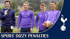 Dizzy Penalty Challenge | feat. Kane, Eriksen, Alli, Winks, Carroll & McGee