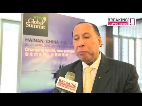 WTTC 2014 Hainan, China - Interview MD & CEO, Taj Hotels, Resorts and Palaces
