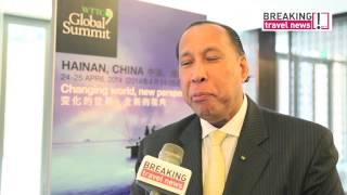 WTTC 2014 Hainan, China - Interview MD & CEO, Taj Hotels, Resorts and Palaces