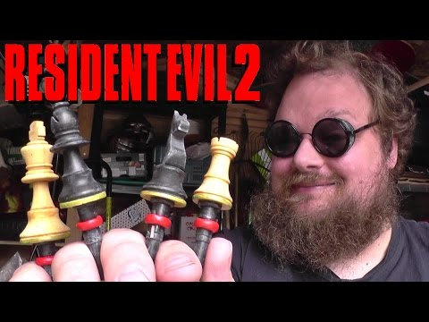 Making The Chess Plugs! (Resident Evil 2)
