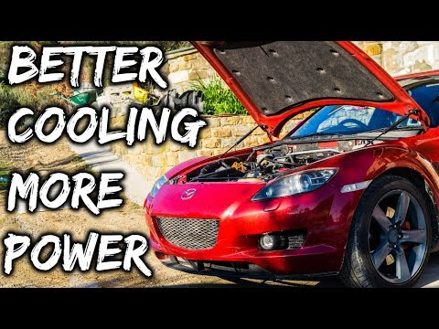 Best Cooling Mods To Reduce Engine Heat On Your Mazda Rx8