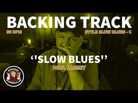 Backing track - Style Slow Blues - C - 50