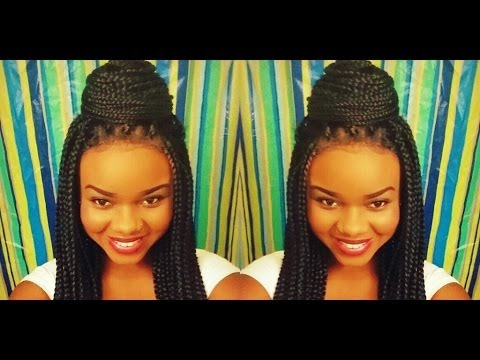 Poetic Justice Box Braided Lace Wig [READ DESCRIPTION!] - YouTube