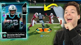CHRISTIAN MCCAFFREY JUKES ARE TOO OP! MADDEN 20 ULTIMATE TEAM