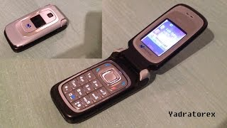 Nokia 6085 retro review (old ringtones, themes & games) flip phone