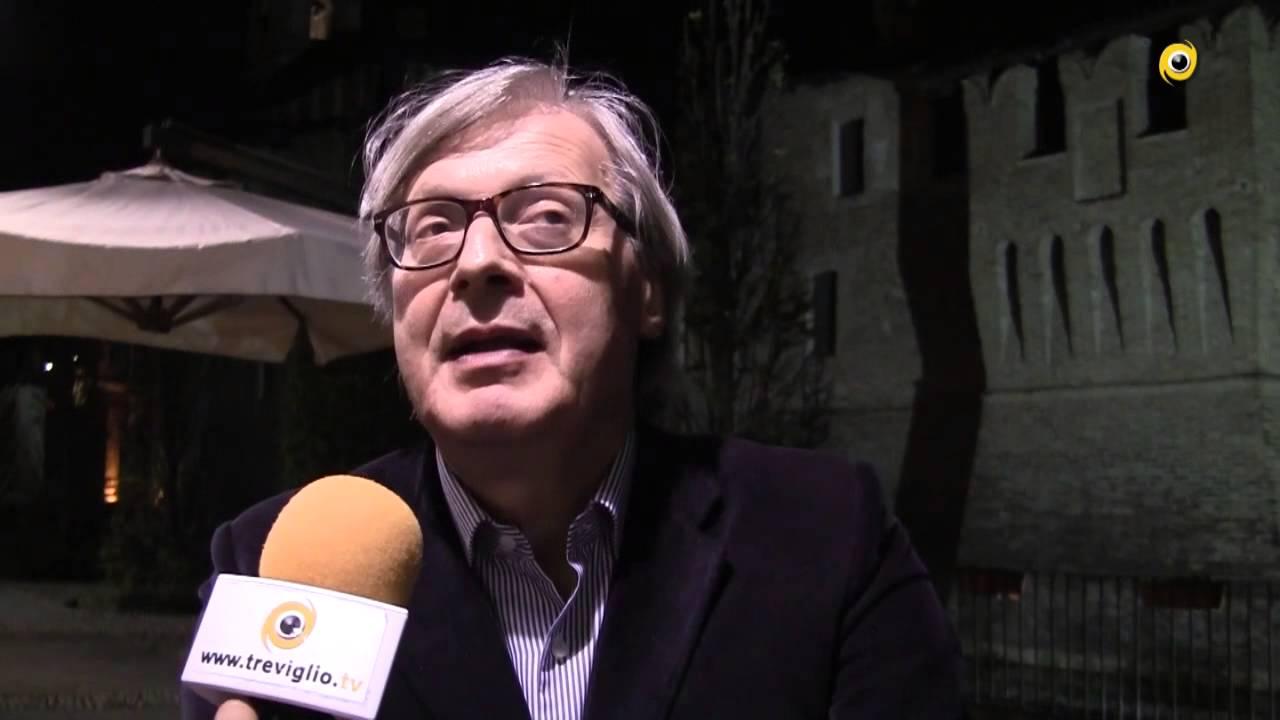 Vittorio Sgarbi a Pagazzano
