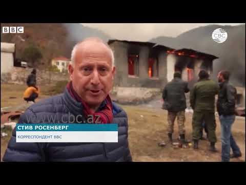 Журналисты BBC стали свидетелями вандализма армян
