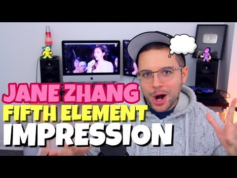 Charismatic Jane Zhang - Fifth Element Impossible Song | IMPRESSION