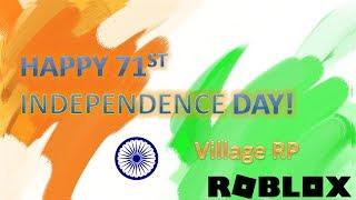 Joyeux 71e jour de l'indépendance de l'Inde! Village RP feux d'artifice Roblox