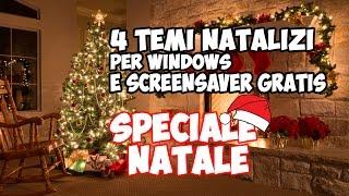 4 Temi Natalizi per windows + Screensaver (SPECIALE NATALE 1) GRATIS ArmaDisk ITA