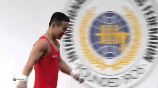 OM Yun Chol 3s 130 kg cat. 56 World Weightlifting Championship 2013