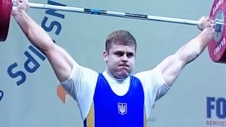 2009 European Weightlifting Championships, Men +105 kg \ Тяжелая Атлетика. Чемпионат Европы