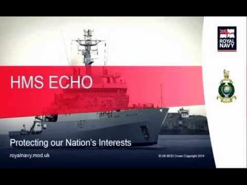 HMS Echo: the survey ship and her role