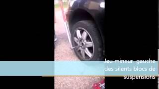 Diagnostic silent bloc suspension (SEAT IBIZA)